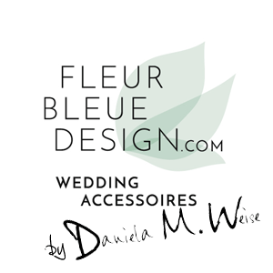 Hochzeit Haarschmuck | Brautschmuck | Haarschmuck Hochzeit | Haar Accessoires FLEUR BLEUE DESIGN by Daniela M. Weise