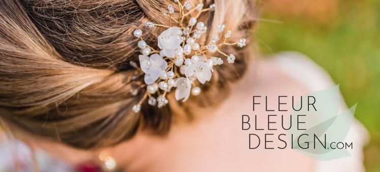 Braut Haarschmuck von Daniela M. Weise | FLEUR BLEUE DESIGN