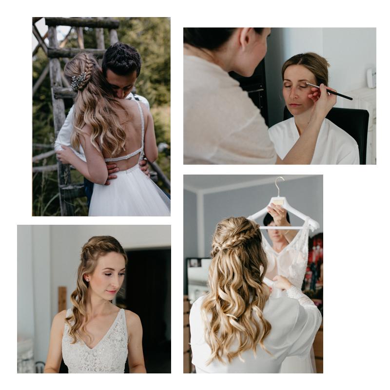 Brautstyling | Katha [fleurbleuedesign.com]