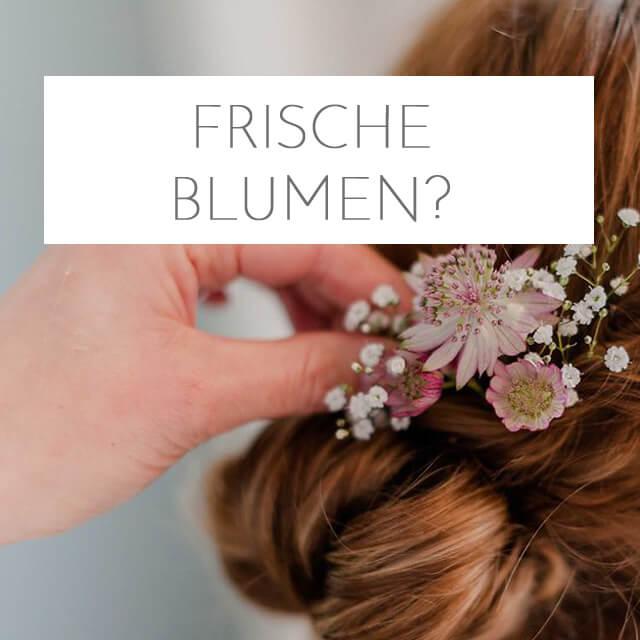 Tipps für Blumen als Haarschmuck – Update