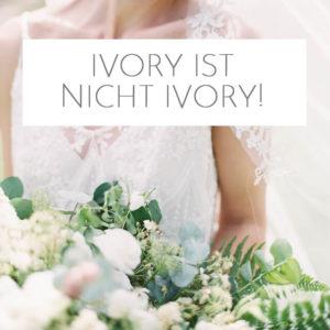 Ivory ist nicht ivory!