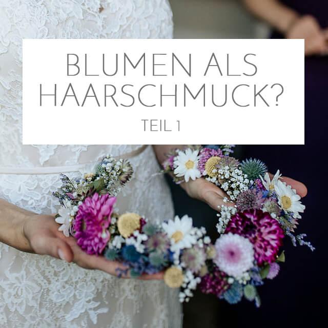 Blumen-Haarschmuck? <br> Teil 1