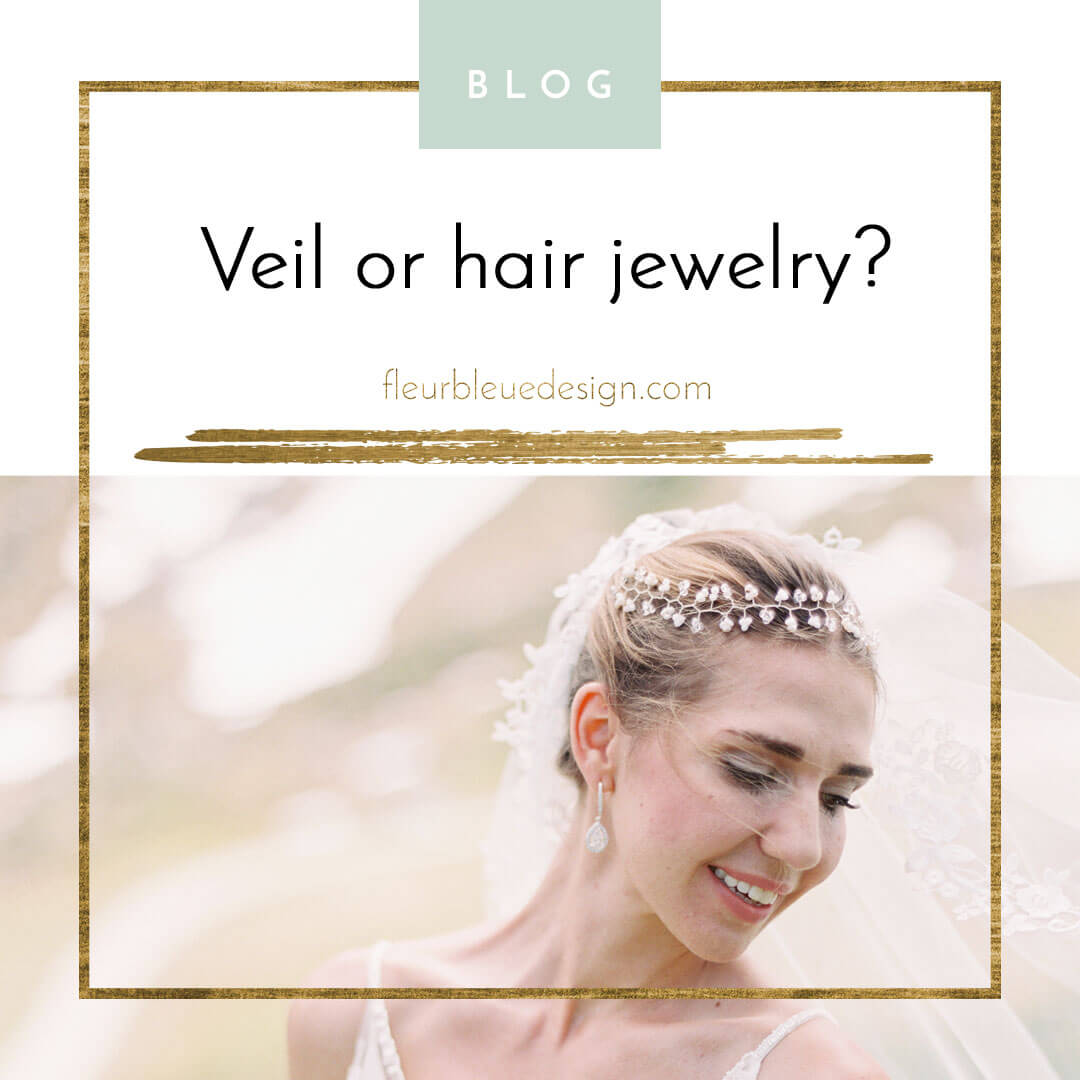Veil or hair accessories?