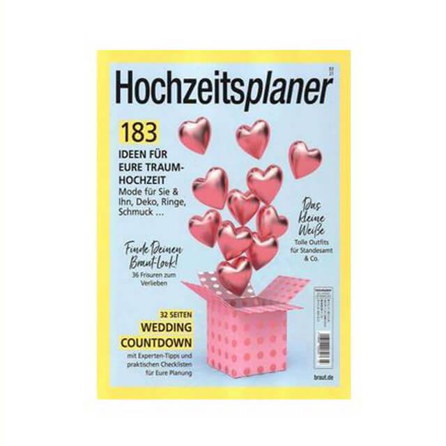 Veröffentlichung im Magazin Hochzeitsplaner Ausgabe 03 2021
